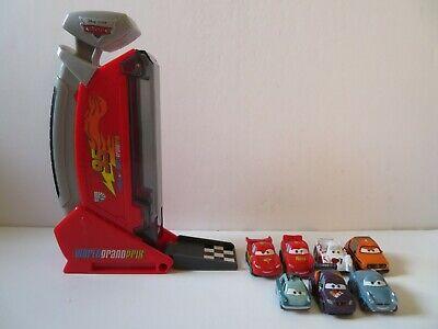 Disney Cars Disney Cars Launcher 7 Micro Drifters Mini Racers Lightning McQueen