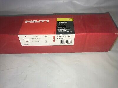 Hilti 336862 Diamond Core Bit Dd-c 16mm X 300mm T4