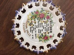 Decorative plate - mother