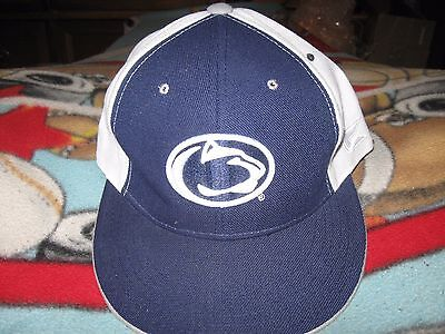 save off cee6e c0366 Penn State Nittany Lions Hat Cap Fitted Mens 7 3 8 PSU Colosseum NCAA