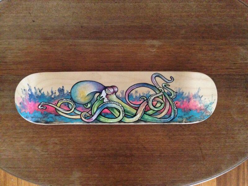 Octopus skateboard deck wall art | Art | Gumtree Australia Frankston ...