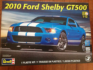 Large 1/12 scale 2010 Ford shelby GT500 model kit