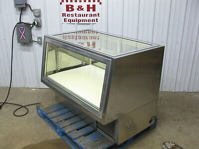 48 Stainless Steel Glass Bakery Donut Display Show Case 4