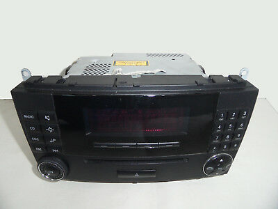 Mercedes CLK W209 W203 CD Radio Player Autoradio Telefon 2098700989 2098206589