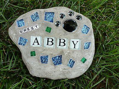 Custom Personalized Pet Memorial Stone
