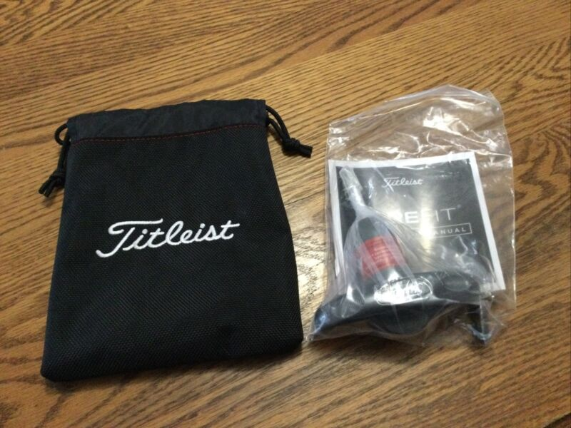 Titleist Pouch and Surefit Adjustment Tool