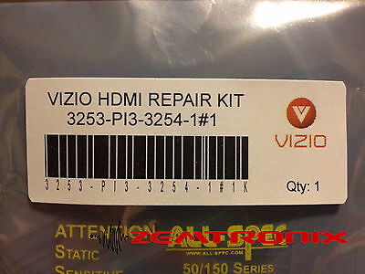 Vizio HDMI Repair Kit for E420VL E470VL E472VLE E550VL 0171-2272-3253 / 3254