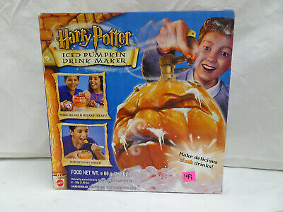 Harry Potter ICED Pumpkin Drink Maker Original Box Mattel 57608 Wizard Treats ](Harry Potter Halloween Pumpkin)