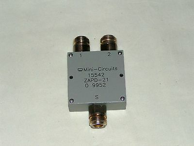 Mini-Circuits ZAPD-21 15542 Power splitter.  500MHz-2000MHz