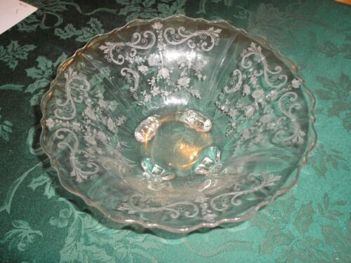Cambridge Chantilly Footed Bowl