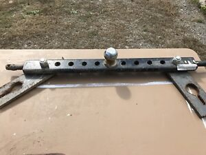 3 Point Hitch Draw Bar
