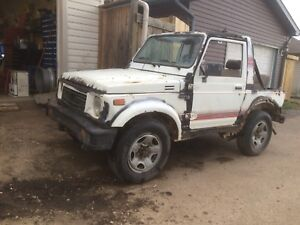 1988 Suzuki samurai (trade for quad)