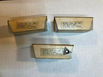 Lot 29 Aloris Atpg541 Carbide Inserts Ic516 Th 18 Ra 164 Tpgb 2.521