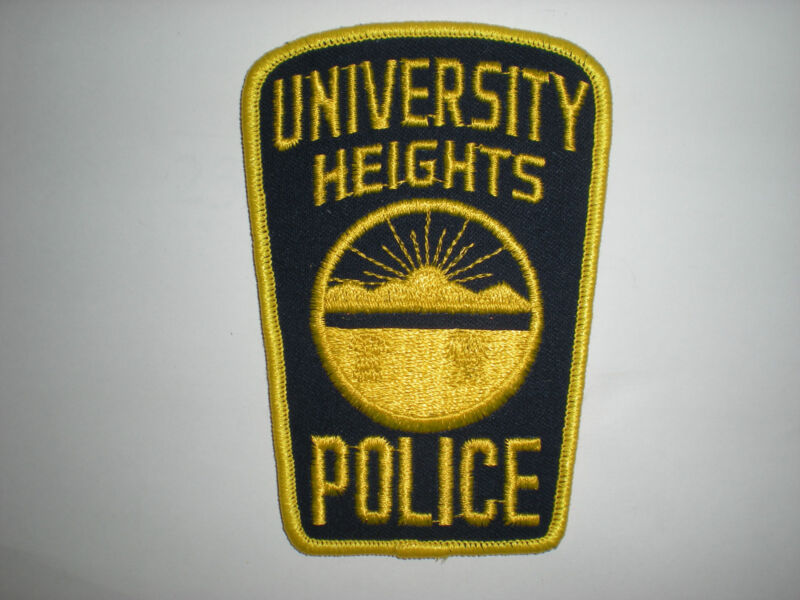 UNIVERSITY HEIGHTS, OHIO POLICE DEPARTMENT PATCH