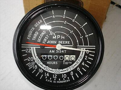 John Deere Am3134t 420 430 Crawler 4 Speed Tachometer Original Tach Rare Nos