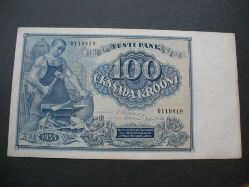 ESTONIA 100 krooni 1935