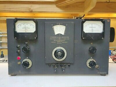 Vintage Boonton Model 65-b Standard Signal Generator Tested Working