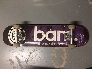 Element Bam skateboard complete