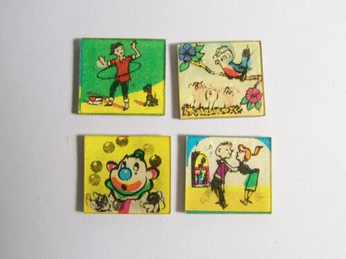 Vari-Vue Lenticular Flicker Flasher Premium Card lot of 4