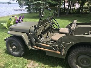 1942 WWII Willy's Slat Grill Jeep MB