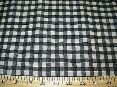 Crafts For Less (BTY STROHEIM GENUINE HORSEHAIR FALABELLA PLAID UPHOLSTERY FABRIC FOR)