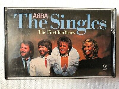 ABBA - The Singles The First Ten Years Cassette 1982