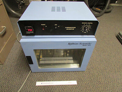Robbins Scientific Hybridization Incubator Model 1000 Tested Working