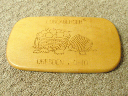 """Longaberger """"LID"""" Classic stain for the 1991-1995 Dresden Tour Basket. NEW!!!"""