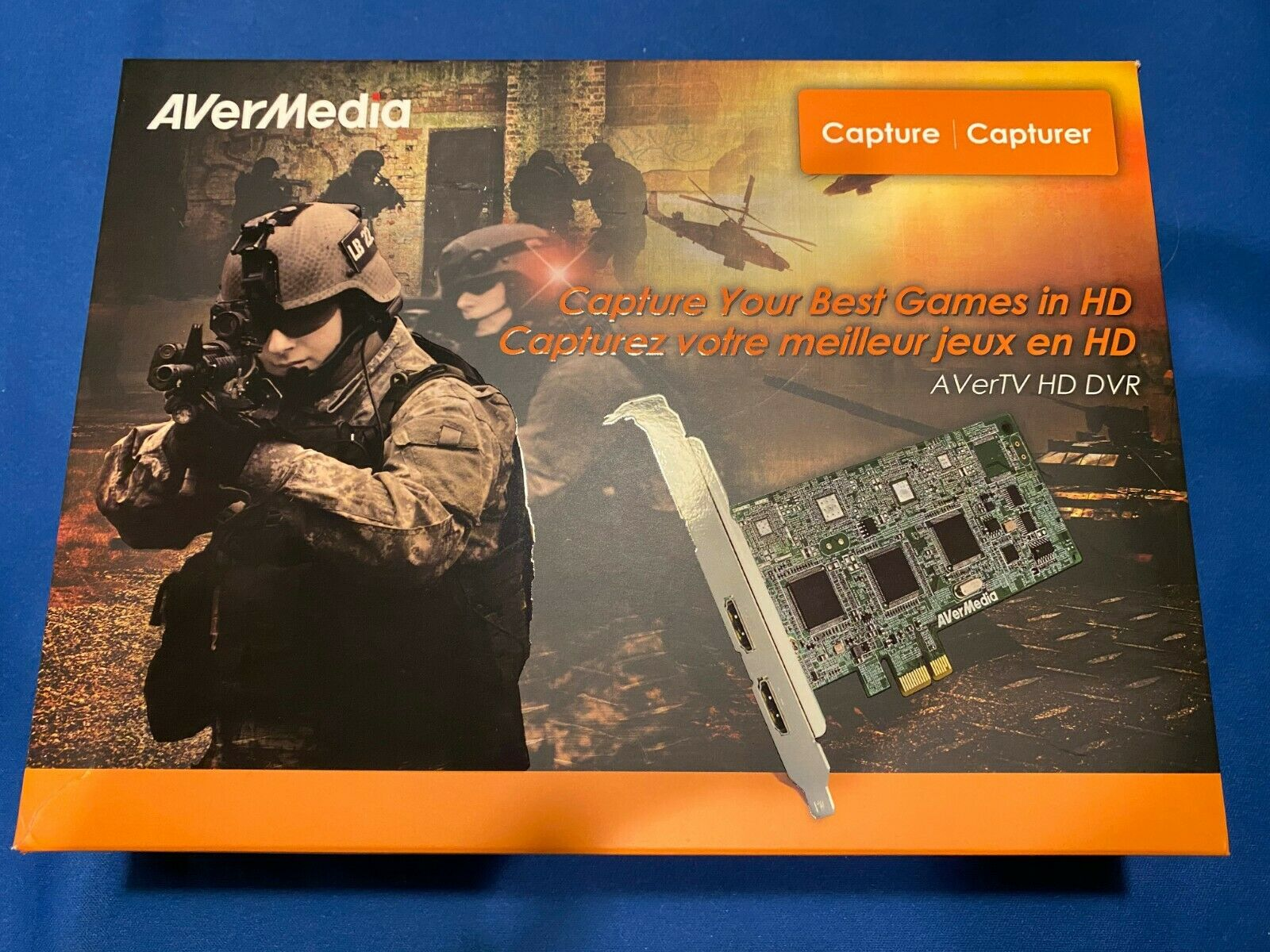 AVerMedia AVerTV HD DVR Game Capture Card C027 HDMI 1080i OB
