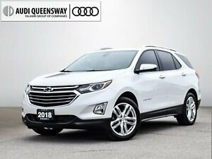 2018 Chevrolet Equinox Premier w/2LZ|No Accidents|Navi|Leather|P