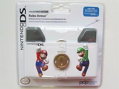 Mario & Luigi Nintendo DS Lite 3DS Robo Armor Protective Cover Case Shell Bros