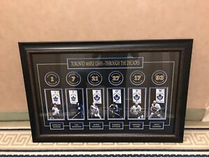 Toronto Maple Leafs- Through the Decades Framed Banner