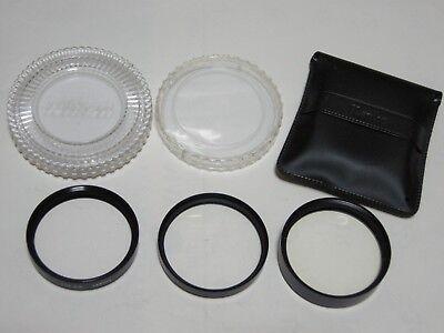 LOT of 3 52mm CLOSE UP LENS  Nikon No.3T, Sigma Achromatic, Kenko AC No.4