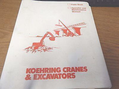 Koehring Bantam 725 Teleskoop Parts And Service Manual