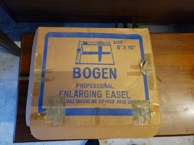"Bogen Professional Photo Enlarging Easel 8""x 10"" great condition"