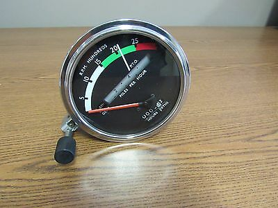 John Deere 3020 4020 Tractor Tachometer W Red Needle Re206854 9308