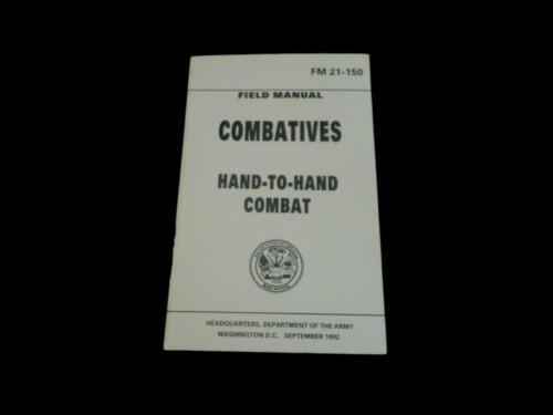 U.S ARMY COMBATIVES HAND TO HAND COMBAT HANDBOOK SELF DEFENSE TAKEDOWNS