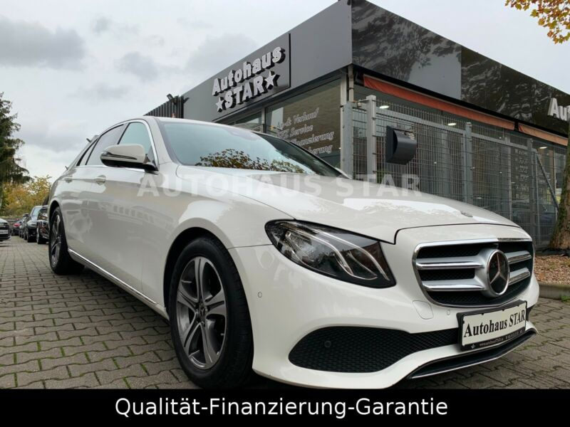 Mercedes-Benz  MB E 220 d  * EXCLUSIVE * LEDER * NAVI * STHZ