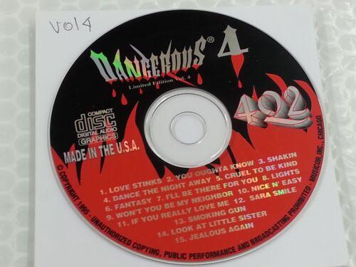 Dangerous Fire! Karaoke Disc Limited Edition Vol 4 4Q2 CD+G