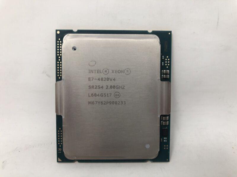 Intel Xeon E7-4820v4 2.0GHz/25M/1866 10C 115W (SR2S4)