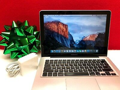 """13"""" Apple MacBook Pro 1TB SSD Hybrid OSx-2015 Re-Certified 6GB - 1 YEAR WARRANTY"""