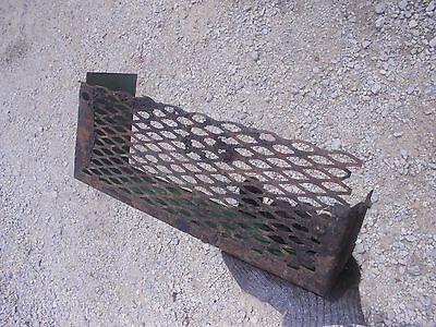 John Deere B Rax Tractor Jd Frame Rail Tool Box Mesh Tray