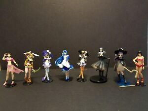 Yujin Guilty Gear Sega Gals Darkstalkers Cute Sexy Gashapon Anime 8 Figure Lot