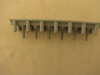 Ms 27212-1-6 Stud Terminal Junction Block 6 6-32x12 Studs