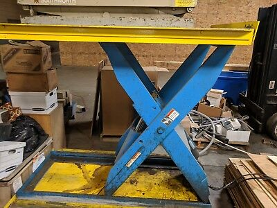 Lift Products Lt4825 Hydraulic Lift Table Lot 1