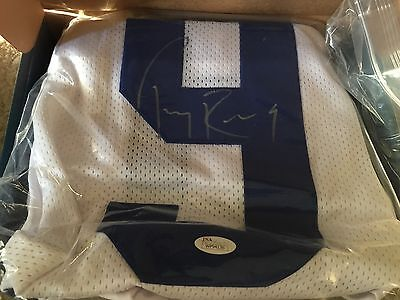Tony Romo Autograph Official NFL Jersey PSA authenticated