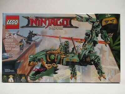 LEGO NINJAGO RETIRED #70612 GREEN NINJA MECH DRAGON SEALED NEW MISB 544 PCS