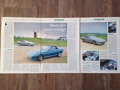 TVR 280i & 350i - Classic Buying Guide Article - Popular Classics Magazine 1994