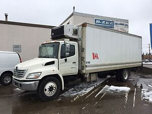 2009 HINO 24FT REFRIGERATED BOX TRUCK