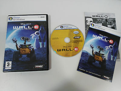 WALL-E WALLE BATTALION CLEANING SET FOR PC DISNEY IN SPANISH GAME WINDOWS